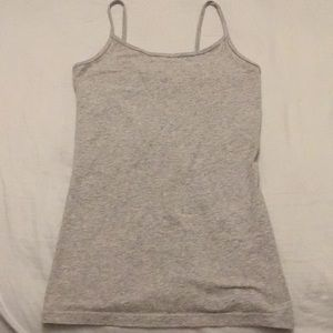 Forever 21 Cotton Cami Women's Size S Heather Gray